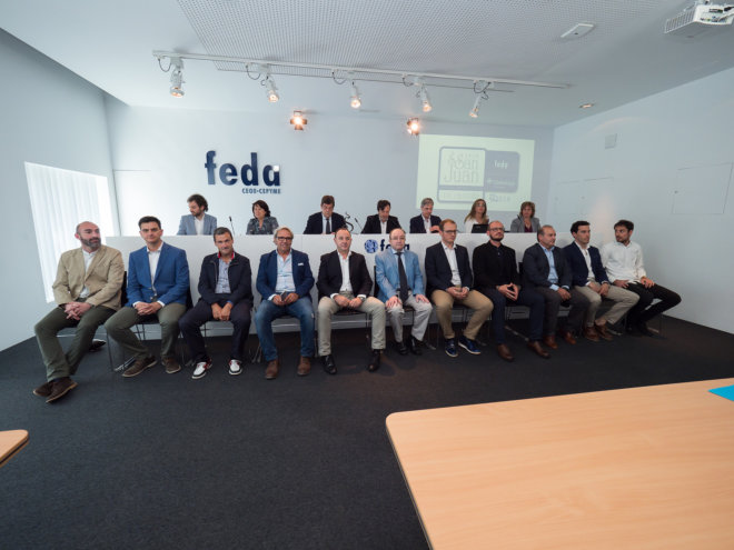 Premiados en los Premios San Juan de FEDA 2018